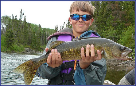 fly-in only access to trophy walleye and trophy northern pike fishing